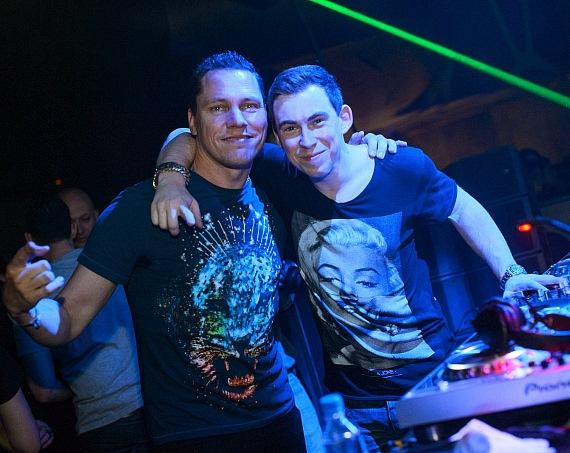 Tiesto and Hardwell at Hakkasan Las Vegas