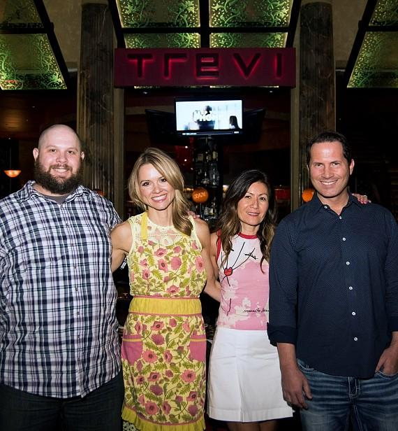 Trevi Charity Pizza Competition Participants