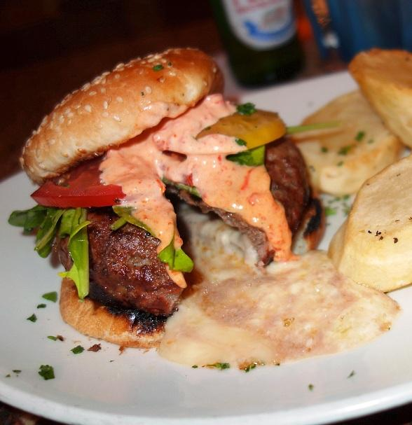 TREVI Italian stuffed burger