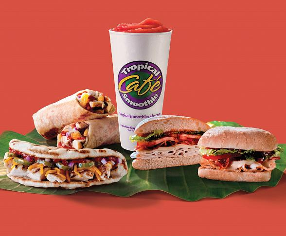Tropical Smoothie Caf in Las Vegas Introduces Beachside BBQ Menu Items Beginning July 11