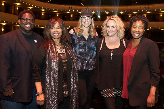 Judges for the 2017 Nevada High School Musical Theater Awards: Torrey Russell, Kristy Love, Christine Hudman, Nicole Pryor Dernersesian and Tracey Langran Corea