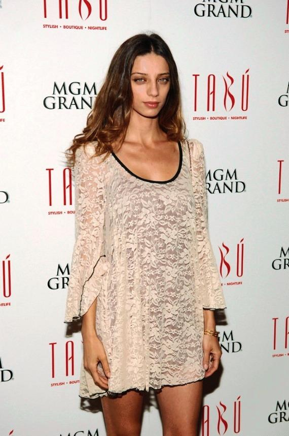 Angela Sarafyan on Carpet at Tabú