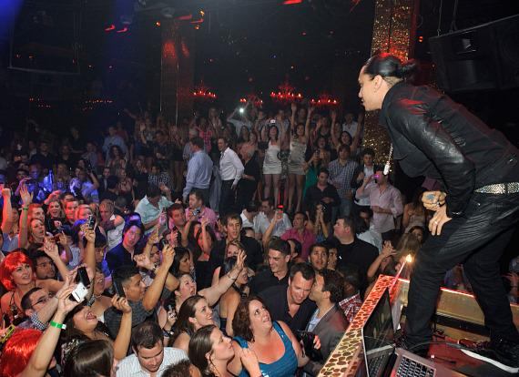 Taboo of the Black Eyes Peas performs at TAO