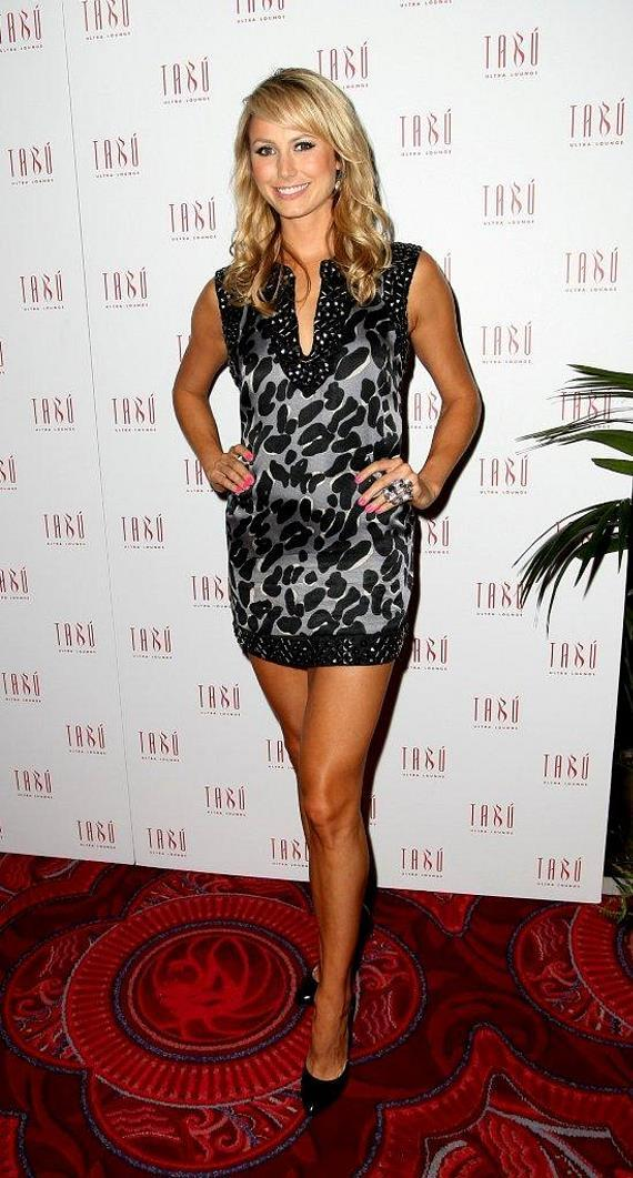 stacy keibler in leather