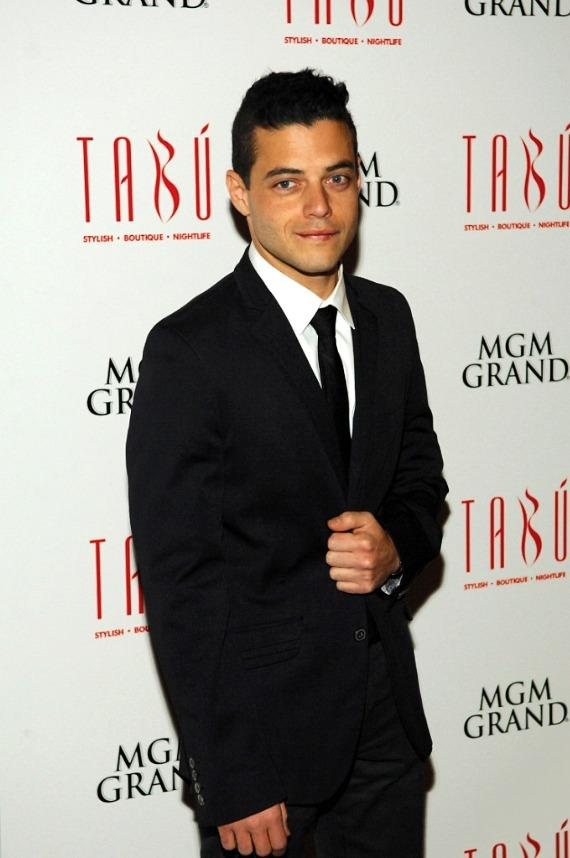 Rami Malek on Carpet at Tab