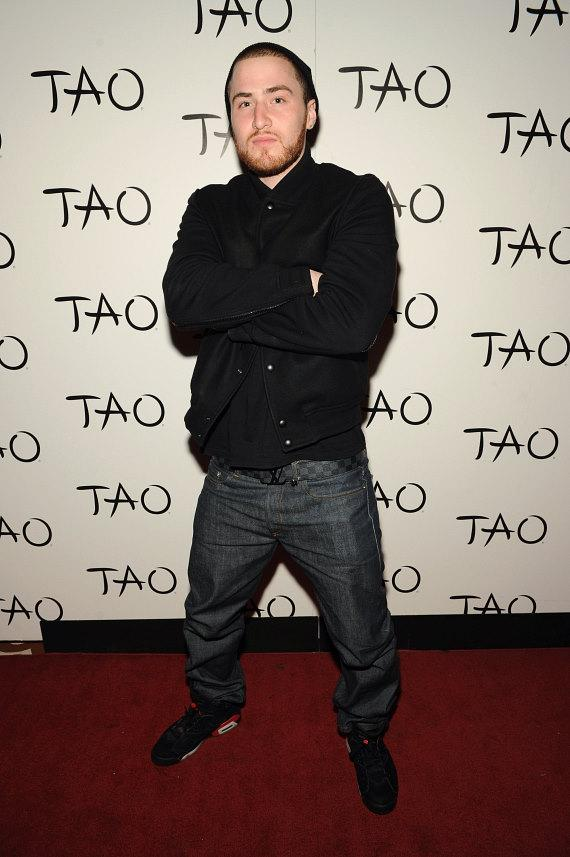 Mike Posner on red carpet at TAO in Las Vegas