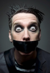 """Meet Mime Sensation Tape Face at the 3rd Annual """"Mike Hammer's Celebrity Go-Kart Race"""" Oct. 22"""