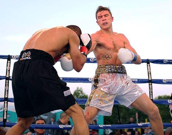 "Ukrainian southpaw Taras ""Real Deal"" Shelestyuk (12-0, 8 KOs)"