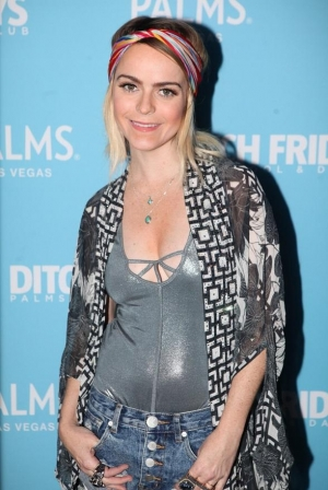 "Taryn Manning, of ""Orange is the New Black"" Spins Guest DJ Set at Ditch Fridays at Palms Pool & Dayclub"