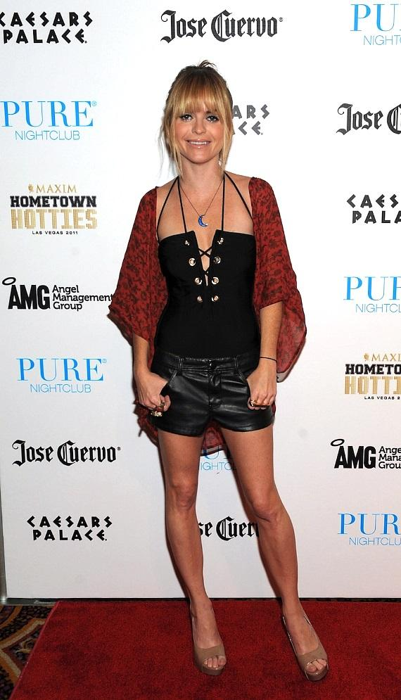 Taryn Manning on red carpet at PURE Nightclub