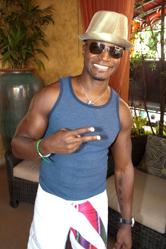 Taye Diggs at TAO Beach