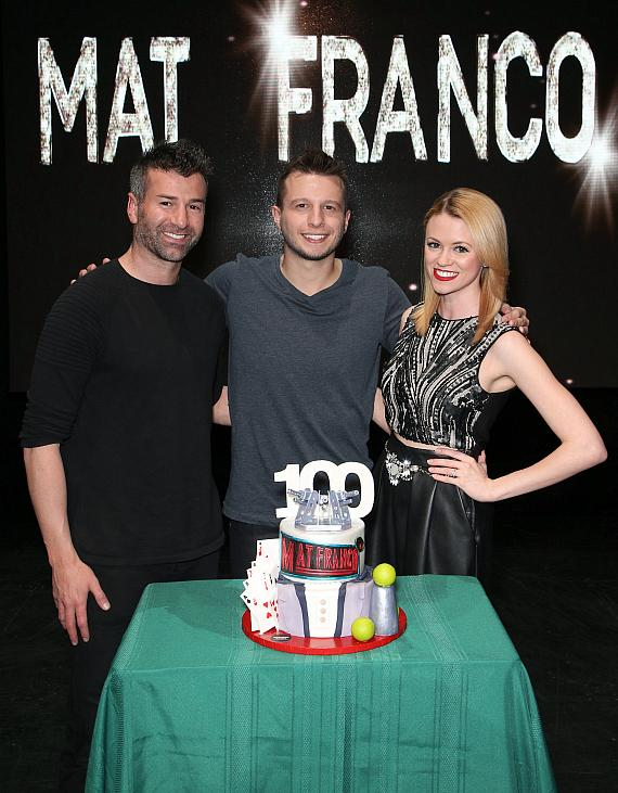 Ted Russell, Mat Franco and Caitlin Herst