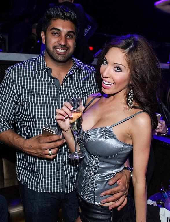 """Teen Mom"" Farrah Parties with Horse, Blowup Doll & Boyfriend at SLS Las Vegas"