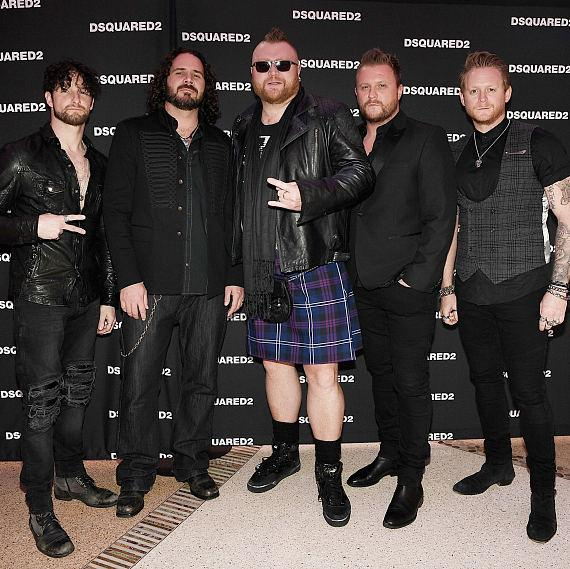 Tenors of Rock at DSQUARED2 Grand Opening