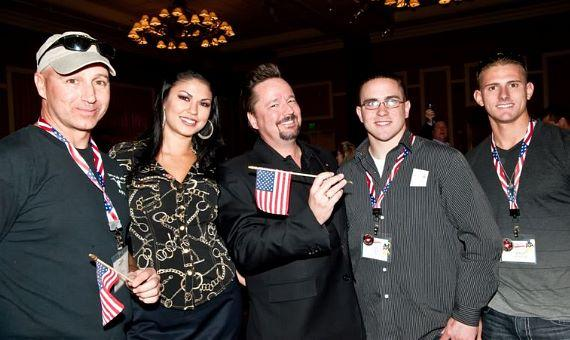 The Mirage and Terry Fator Pay 'Tribute To The Troops' for Veteran's Day Weekend