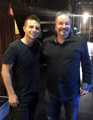 "Las Vegas Headliner Terry Fator attends ""Mat Franco - Magic Reinvented Nightly"" at The LINQ Hotel & Casino"