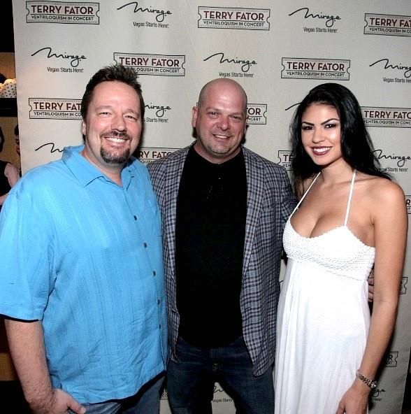 Pawn Stars' Rick Harrison Visits Terry Fator at the Mirage