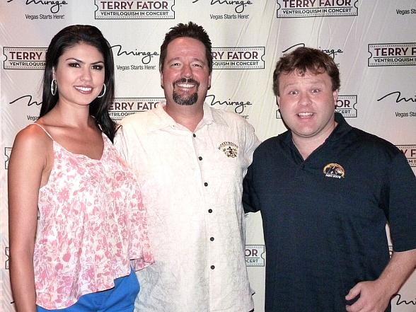 Terry Fator, Taylor Makakoa and Frank Caliendo