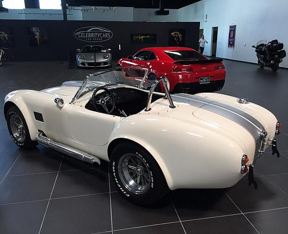 Neil purchased this 1965 Superformance Shelby Cobra