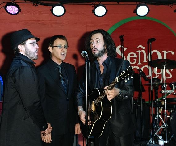 The Australian Bee Gees on Stage at Senor Frog's Las Vegas