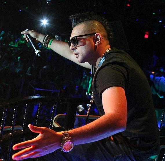Sean Paul performs at The Bank