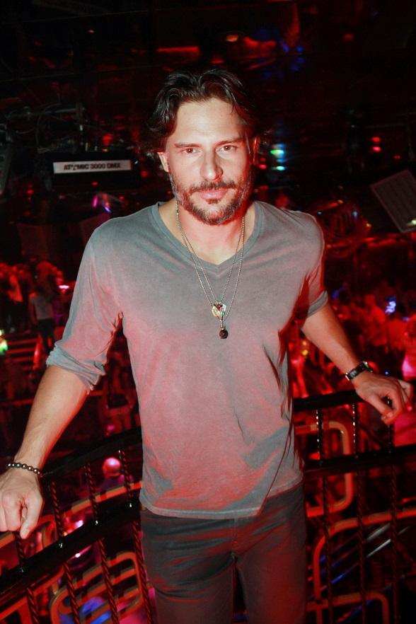 Joe Manganiello Parties at The Bank Nightclub at Bellagio in Las Vegas