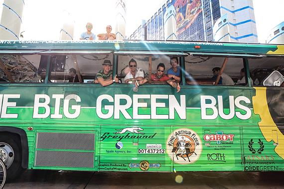 The Big Green Bus with Recycled Percussion