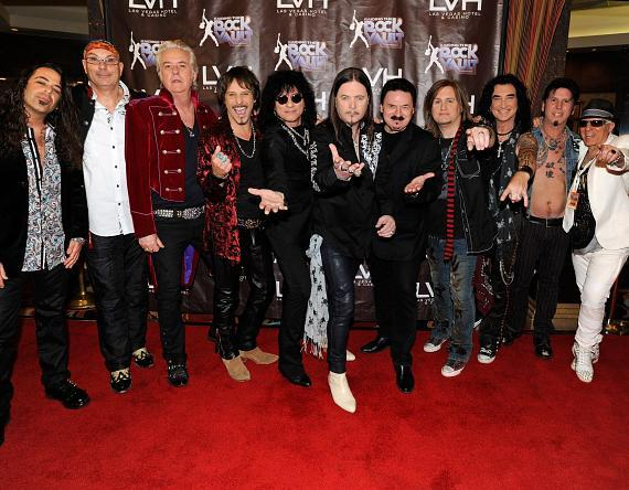 The Cast of Raiding the Rock Vault