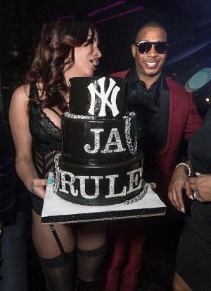 Ja Rule Hosts Birthday Bash at Foxtail Nightclub