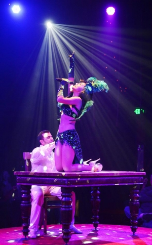 "Melody Sweets Presents ""Big Top Circus and Burlesque"" June 26 at ABSINTHE's Spiegeltent at Caesars Palace"