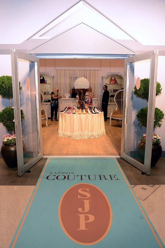The SJP Collection Pop Up Shop is at The Shops at Crystals for Two Days Only