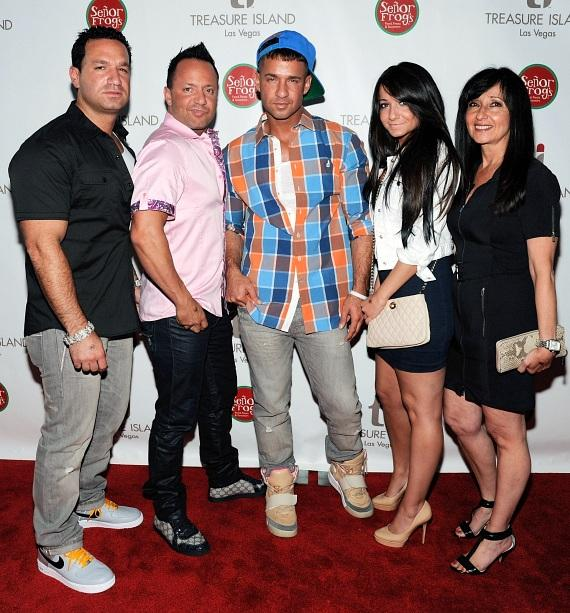 The Situation and family on Red Carpet at Senor Frog's