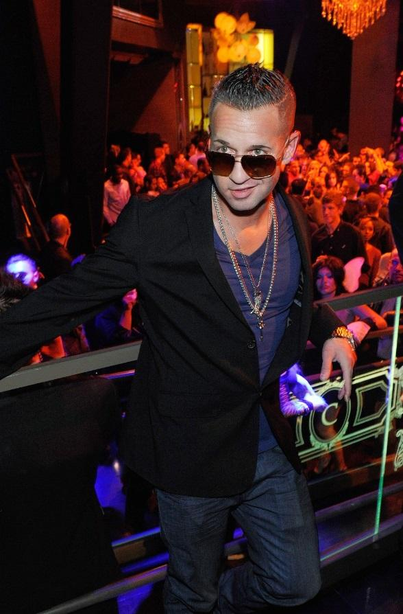 "Mike ""The Situation"" Sorrentino at Chateau Nightclub & Gardens at Paris Las Vegas"