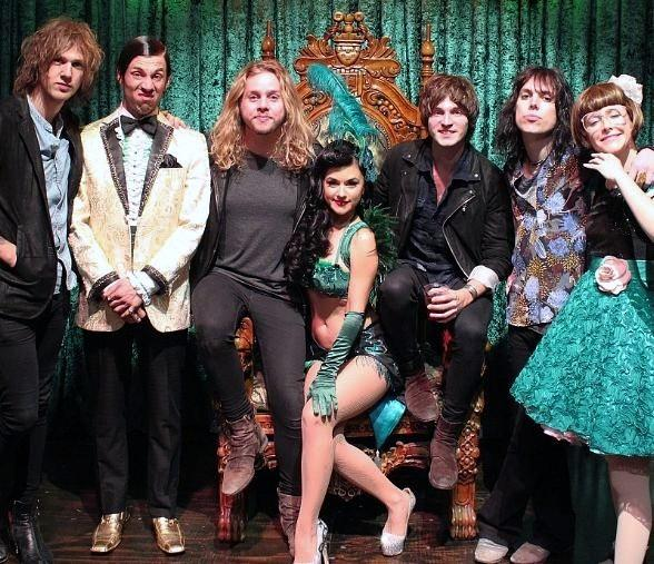 The Struts attend ABSINTHE at Caesars Palace
