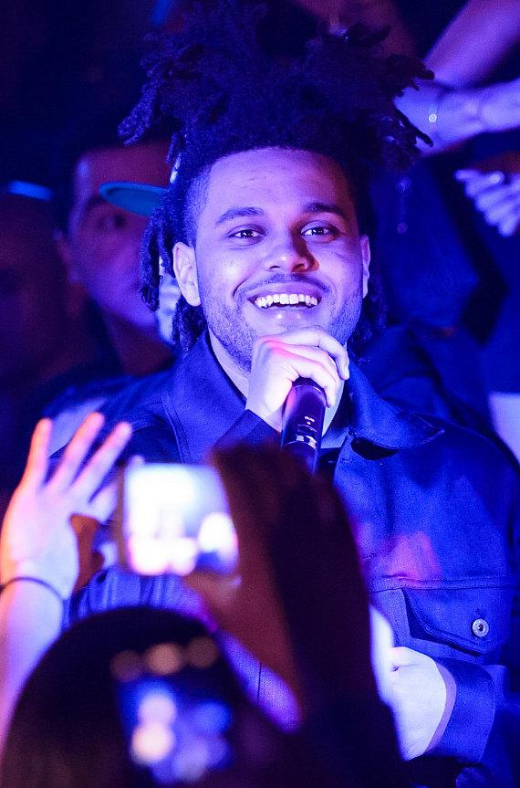 The Weeknd Performs at Hakkasan Las Vegas