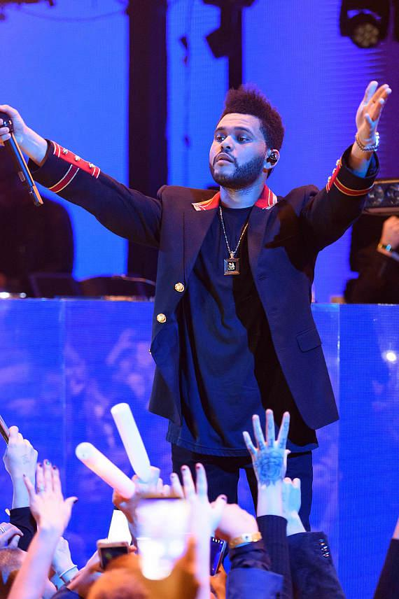 The Weeknd performs at Marquee