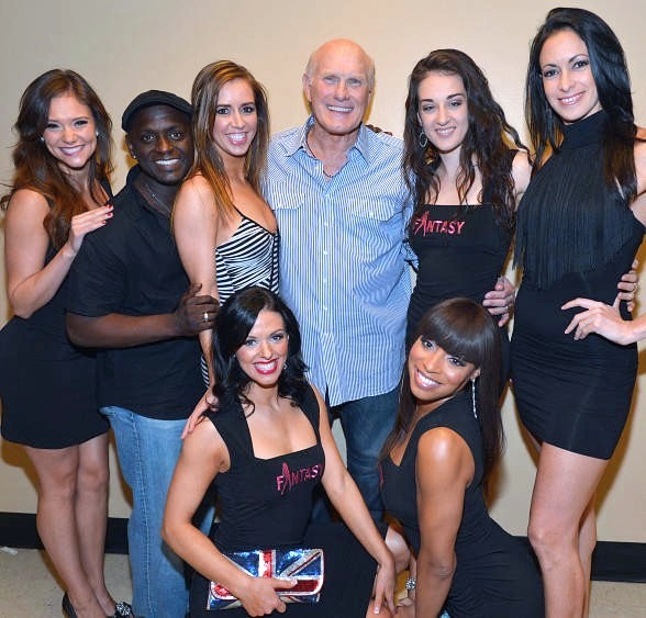 The ladies of FANTASY, Sean E. Cooper and Terry Bradshaw