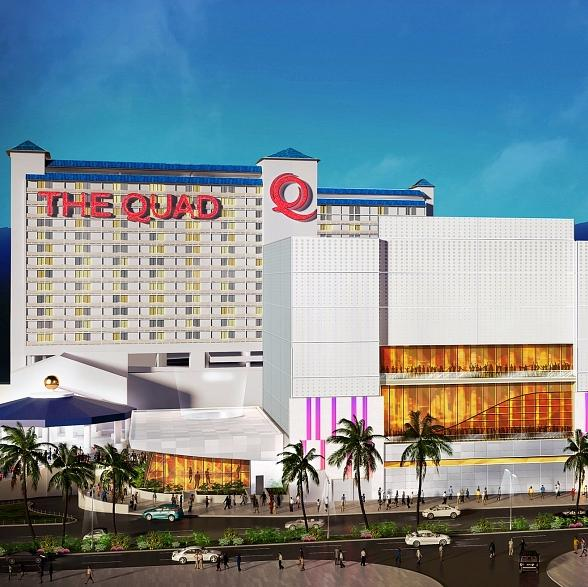 "Caesars Entertainment Reveals ""The Quad Resort & Casino"" as New Name fo"