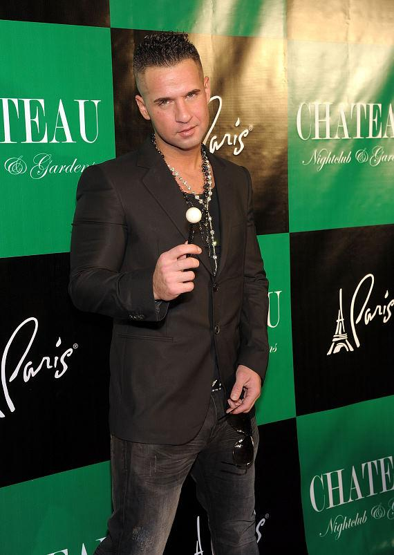 "Mike ""The Situation"" Sorrentino with a Sugar Factory Couture Pop"