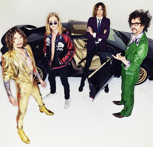 The Darkness to Perform at Brooklyn Bowl Las Vegas at The LINQ Promenade March 30, 2018