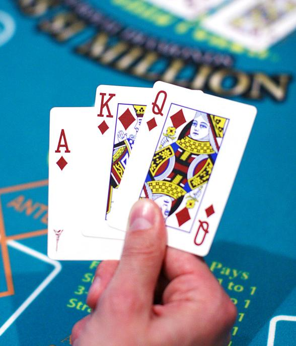Caesars Players Can Win $1 Million in One Hand Playing Three Card Poker 6 Card Bonus in Las Vegas