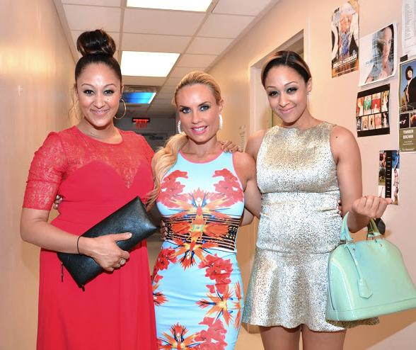 Tia &amp; Tamera Mowry Meet Nicole CoCo Austin at PEEPSHOW in Las Vegas