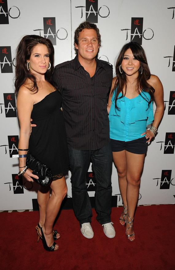 Tiffany Michelle, Bob Guiney and Maria Ho at TAO