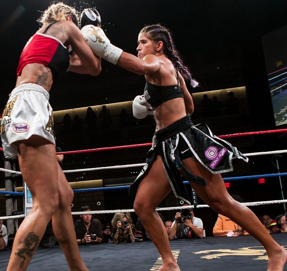 "Tiffany ""Timebomb"" Van Soest to Compete in Co-Main Event; Super Lightweight Championship Kevin Ross vs. Michael Thompson at Lion Fight 16 at The Palms July 4"
