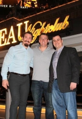 Tim Kennedy and Dakota Meyer Meet Up at Chateau Nightclub & Rooftop