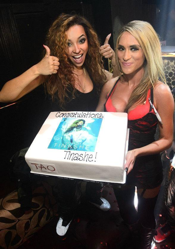 "Tinashe Hosts ""Aquarius"" Album Release Party at TAO"