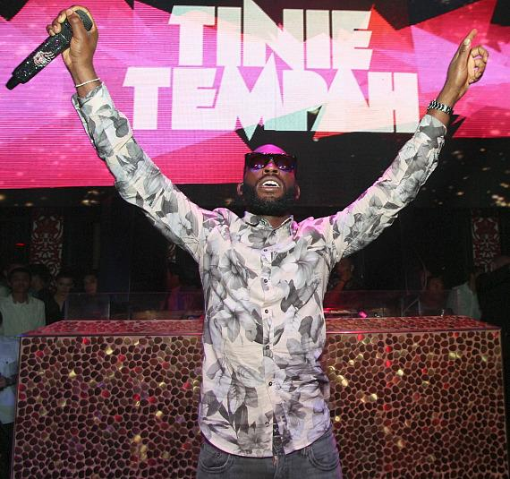 Tinie Tempah performs at TAO Nightclub in Las Vegas