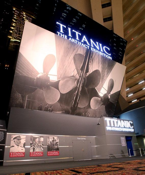Titanic: The Artifact Exhibition at Luxor in Las Vegas