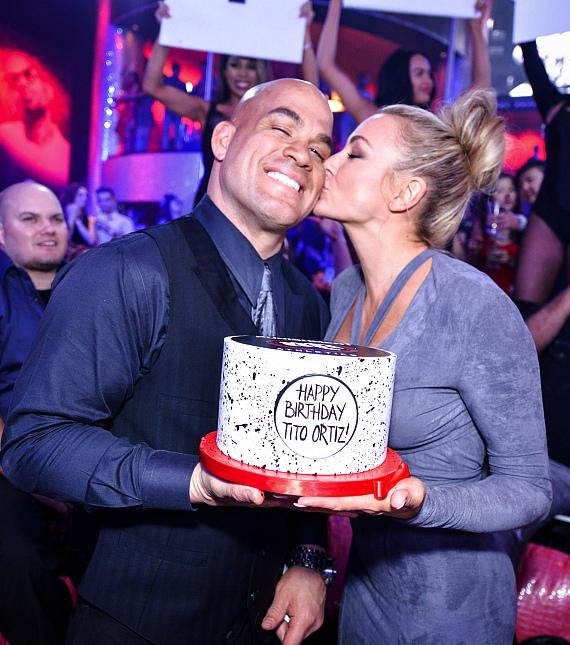 Tito Ortiz Celebrates Birthday at Drai's Nightclub Las Vegas