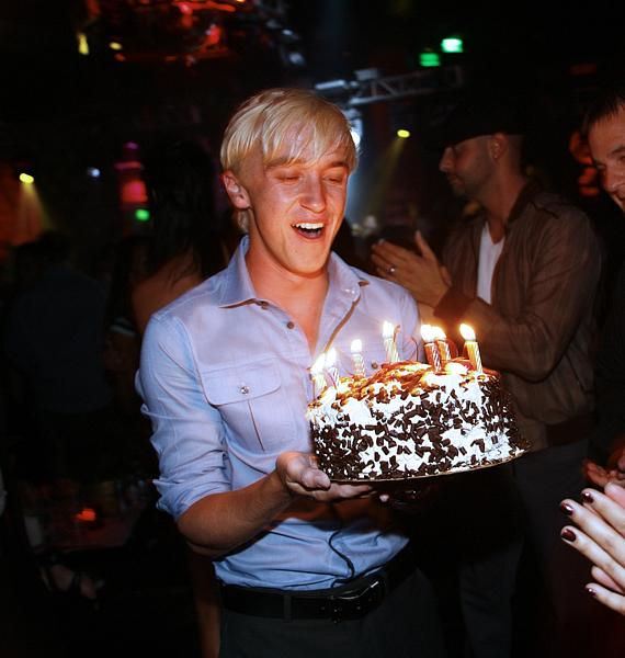 Thomas Felton celebrates birthday at Prive